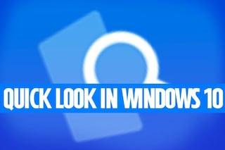 Come attivare QuickLook di macOS anche in Windows 10