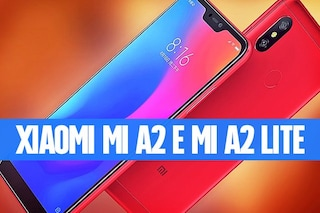 Xiaomi Mi A2 e mi A2 Lite, due nuovi smartphone economici animati da Android One