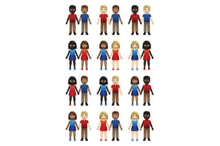 Nel 2019 arriveranno le emoji con coppie multiculturali