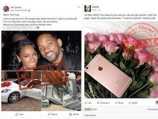 Cos'è il Celebrity Giveaway Scam, la truffa che usa i profili fake delle celebrità per rubare i tuoi dati