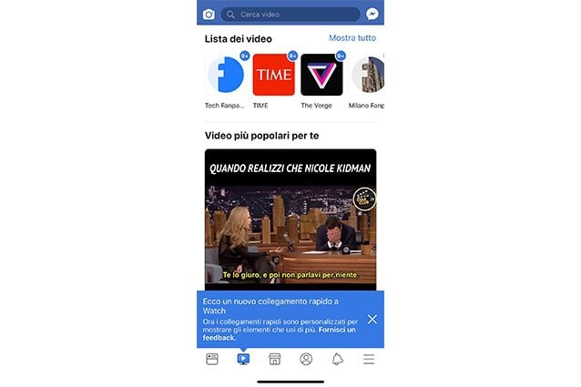 facebook watch fanpage.it