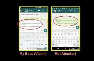 FakesApp: il bug di Whatsapp che consente di modificare i messaggi