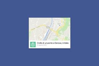 Crollo ponte Genova: su Facebook è attivo il Safety Check per chiedere e offrire aiuto