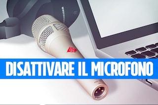 Se tieni alla tua privacy con il Mac, disattiva l'accesso al microfono per le applicazioni
