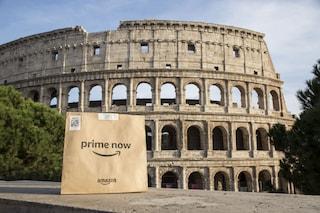 Amazon Prime Now, da oggi le consegne in un'ora anche a Roma
