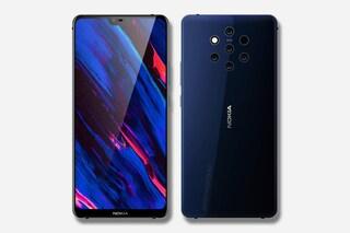 Il prossimo smartphone di Nokia avrà 5 fotocamere