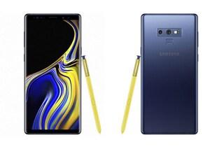 Un Galaxy Note 9 è esploso a causa della batteria