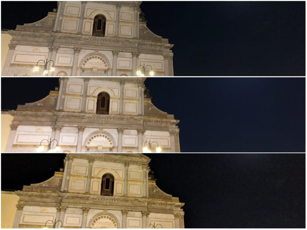 Dall'alto verso il basso: iPhone XS Max, Galaxy Note 9, Pixel 2 XL