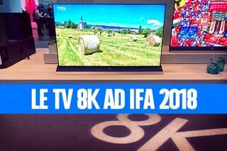 Ad IFA 2018 il futuro della TV è OLED e 8K: i primi modelli arriveranno nel 2019