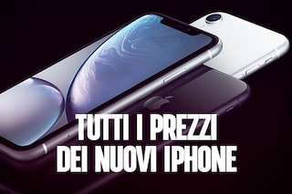 iPhone XS, iPhone XS Max ed iPhone XR: prezzi e data di vendita in Italia
