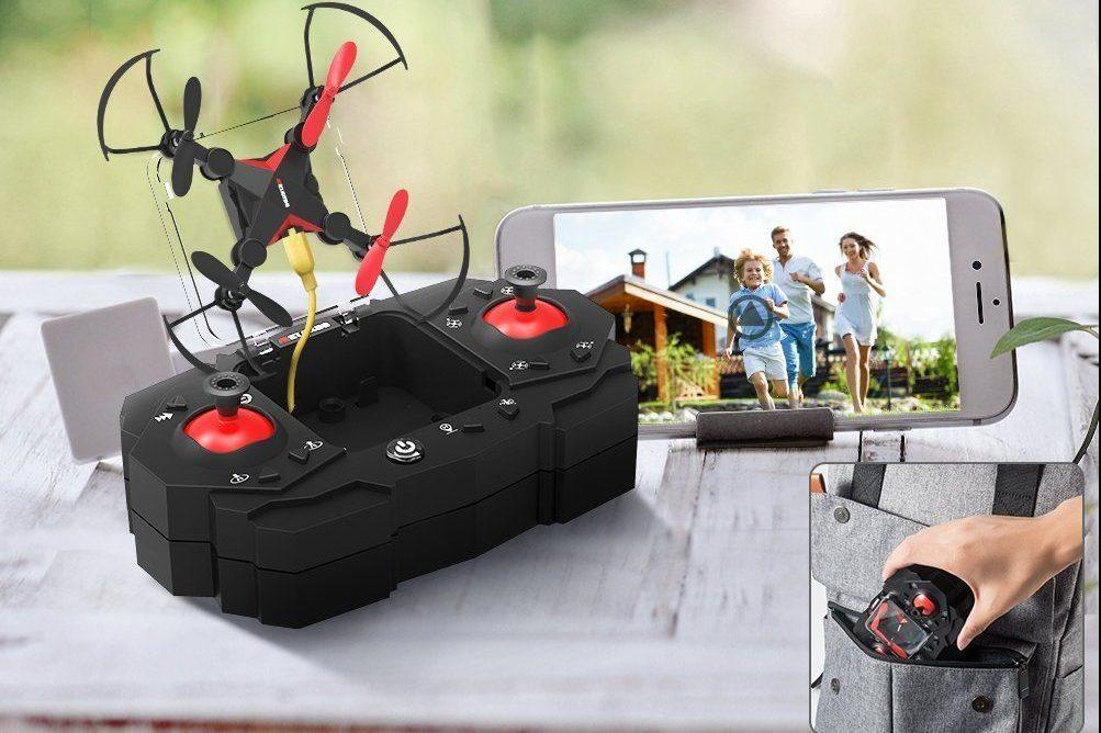 0a73e6cd84 Chi non ha mai desiderato un drone? Questo mini drone con fotocamera HD è  il regalo perfetto per qualunque appassionato di tecnologia!