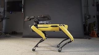 Il robot a quattro zampe di Boston Dynamics ora sa anche ballare Bruno Mars