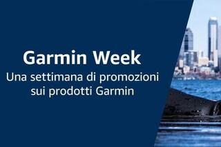 Garmin Week: smartwatch, action camera 360, dispositivi smart e navigatori in sconto su Amazon