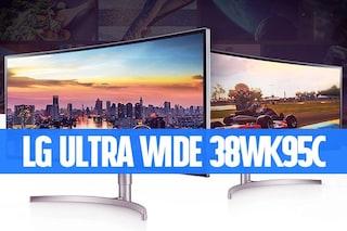 Recensione LG 38WK95C: lasciate perdere i 16:9, il futuro dei monitor è UltraWide e in 21:9
