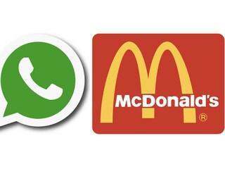 La truffa dei buoni McDonald's su WhatsApp