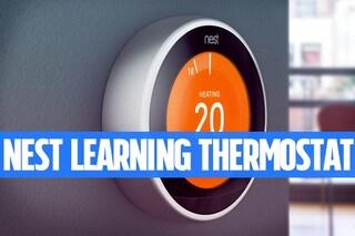 Recensione Nest Learning Thermostat: il termostato che ti fa risparmiare sul consumo di gas