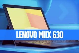 Recensione Lenovo Miix 630, uno sguardo verso il futuro dei tablet 2-in-1 con Windows