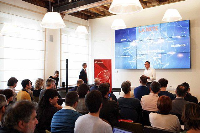 vodafone giga network 4.5G conferenza