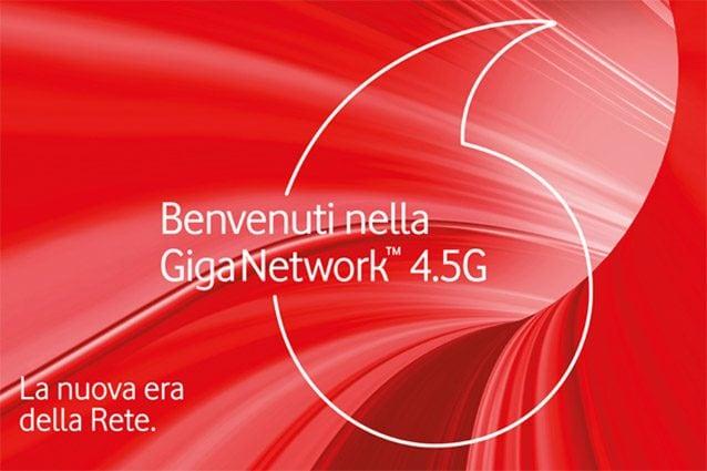 vodafone giga network 4.5G