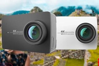 La Yi 4K Action Camera è in offerta su Amazon: l'alternativa economica della GoPro è in promo al 60%