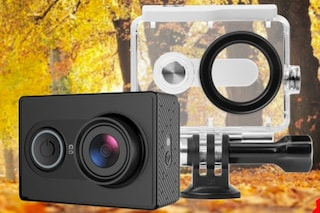 La Yi Action Camera con custodia impermeabile è in offerta al 50% con un codice sconto