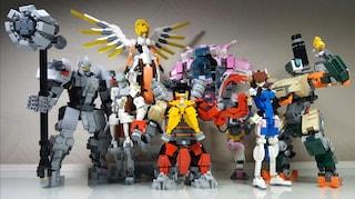 Stanno arrivando i Lego di Overwatch: ecco tutti i set