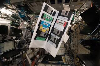 La Stazione Spaziale Internazionale è piena di floppy disk