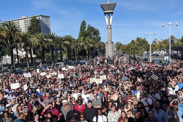 (Foto: Google Walkout for real change)