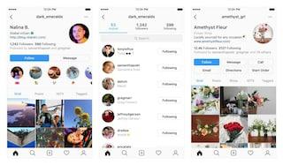 Instagram cambia il design della pagina del profilo