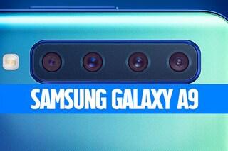 Recensione Samsung Galaxy A9, il medio gama con 4 fotocamere ha più RAM di un S9 (e costa di più)