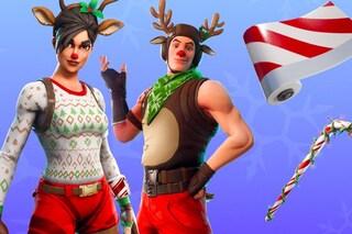 """Ecco l'evento natalizio di Fortnite: un """"calendario dell'avvento"""" e nuovi costumi"""