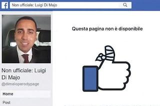"""Facebook ha chiuso le pagine satiriche su Di Maio e Di Battista, l'autore: """"Non ci fermeranno mai"""""""