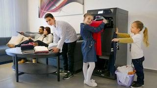 Al CES 2019 arriva il robot piegavestiti che promette maglioni, camicie e pantaloni perfetti