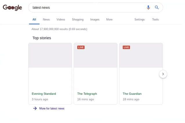 Ecco come sarebbe una ricerca su google con la nuova norma for Ricerca sul parlamento