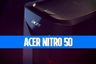 Recensione Acer Nitro 50, un ottimo desktop gaming PC economico ma con qualche compromesso