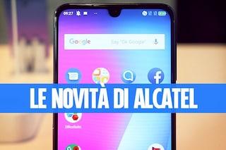 Tutte le novità di Alcatel: dalla serie 3 alla serie 1, fino al tablet che si trasforma in Google Home