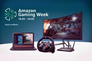Gaming Week su Amazon: fino al 67% di sconto su prodotti da gioco, informatica e telefonia