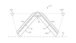 Anche Apple vuole uno smartphone con schermo pieghevole: ecco il nuovo brevetto