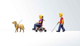 Sedie a rotelle e protesi per le braccia: ecco le 230 nuove emoji per il 2019