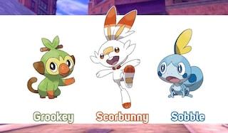 Pokémon Spada e Scudo: il web sta già impazzendo per i nuovi protagonisti