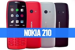 Mentre il mondo aspetta il 5G, Nokia presenta un cellulare 2.5G (e fa bene): ecco il Nokia 210