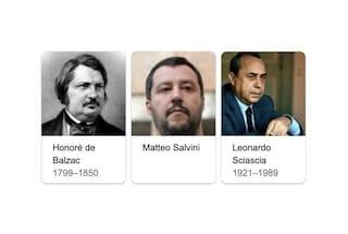No, Google non ha inserito Matteo Salvini tra i grandi scrittori
