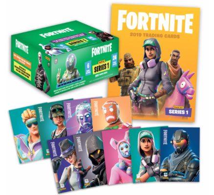 Il primo box delle figurine di Fornite