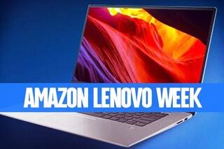 Lenovo Week su Amazon: notebook, desktop e monitor fino al 40% di sconto