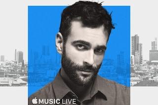 Marco Mengoni inaugura i concerti nell'Apple Store di Milano: come richiedere i biglietti gratis