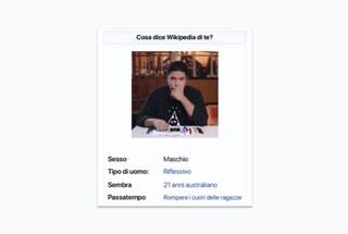 Cosa dice Wikipedia di te: ecco come creare la propria simpatica pagina personale