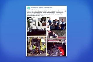 Attentati Nuova Zelanda: su Facebook è attivo il Safery Check per offrire o chiedere aiuto