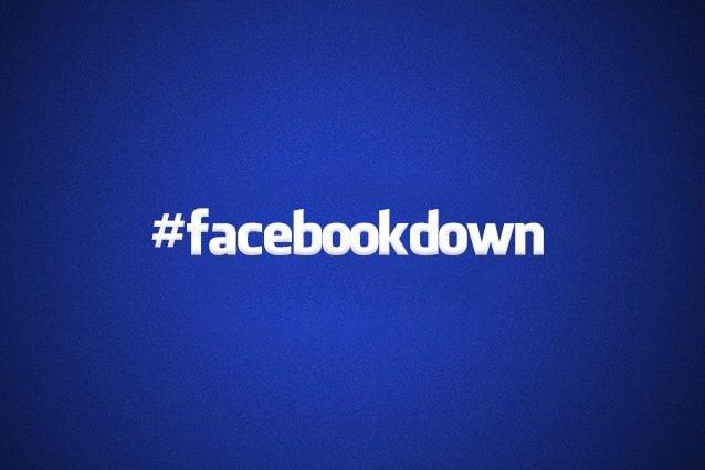 Facebook down: segnalazioni da tutto il mondo e problemi anche per Instagram