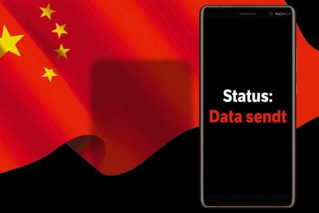 Alcuni Nokia 7 Plus europei hanno inviato i dati degli utenti in Cina