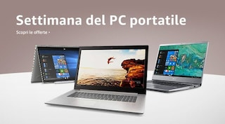 Laptop Week: computer portatili fino al 40% di sconto su Amazon